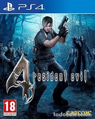 PS4 RESIDENT EVIL 4 HD (EDICIÓN ESPAÑOLA) (Juguetes - Videojuegos y Consolas - Sony - PS4)