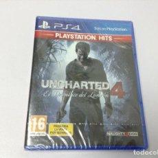 Videojuegos y Consolas PS4: UNCHARTED 4 EL DESENLACE DEL LADRON. Lote 222411816