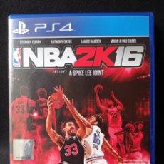 Videojuegos y Consolas PS4: PS 4 NBA 2K 16 LEER DESCRIPCION. Lote 222437738