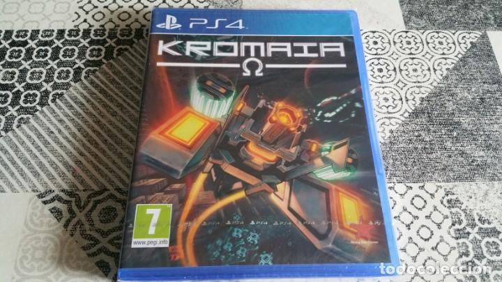 KROMAIA OMEGA PS4 PAL ESPAÑA PRECINTADO (Juguetes - Videojuegos y Consolas - Sony - PS4)