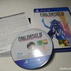 Videojuegos y Consolas PS4: FINAL FANTASY - XII THE ZODIAC AGE ( PLAYSTATION 4 - PS4 - PAL - ESP). Lote 222488747