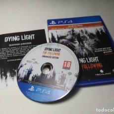 Videojuegos y Consolas PS4: DYING LIGHT THE FOLLOWING - E. MEJORADA ( PLAYSTATION 4 - PS4 - PAL - ESP). Lote 222488778