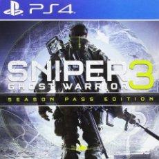 Videojuegos y Consolas PS4: PS4 SNIPER 3 GHOST WARRIOR (SEASON PASS EDITION) EDICIÓN ESPAÑOLA. Lote 222488798