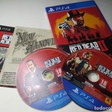 Videojuegos y Consolas PS4: RED DEAD REDEMPTION II ( 2) ( PLAYSTATION 4 - PS4 - PAL - ESP). Lote 222488846