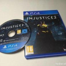Videojuegos y Consolas PS4: INJUSTICE 2 ( PLAYSTATION 4 - PS4 - PAL - ESP). Lote 222488891