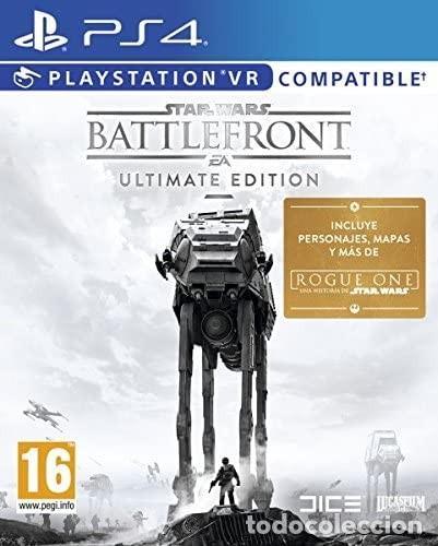 PS4 STAR WARS BATTLEFRONT (EDICIÓN ESPAÑOLA) (Juguetes - Videojuegos y Consolas - Sony - PS4)