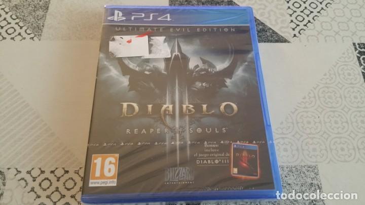 DIABLO III REAPER SOULS ULTIMATE EVIL EDITION PS4 PAL ESPAÑA PRECINTADO (Juguetes - Videojuegos y Consolas - Sony - PS4)
