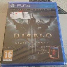 Videojuegos y Consolas PS4: DIABLO III REAPER SOULS ULTIMATE EVIL EDITION PS4 PAL ESPAÑA PRECINTADO. Lote 222620690