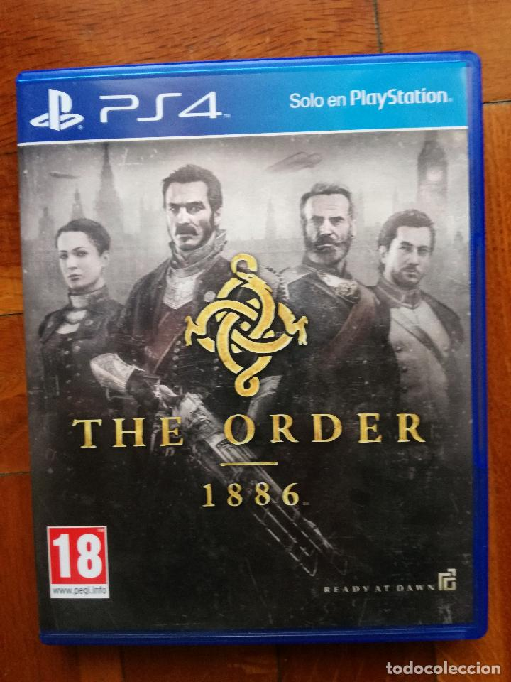 JUEGO - SONY PLAYSTATION 4 - PS4 - 007 - THE ORDER 1886 - DISCO EN PERFECTO ESTADO COMO NUEVO (Juguetes - Videojuegos y Consolas - Sony - PS4)
