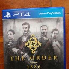 Videojuegos y Consolas PS4: JUEGO - SONY PLAYSTATION 4 - PS4 - 007 - THE ORDER 1886 - DISCO EN PERFECTO ESTADO COMO NUEVO. Lote 222715933