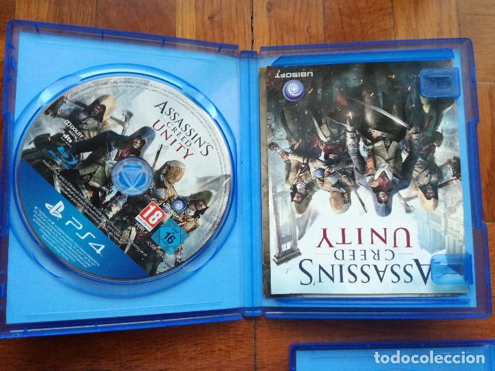Videojuegos y Consolas PS4: LOTE 3 JUEGOS PLAYSTATION 4 LA SAGA ASSASSINS CREED. COMPLETOS. DISCOS EN PERFECTO ESTADO - Foto 3 - 222716976