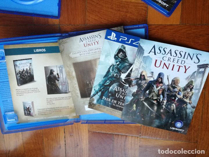 Videojuegos y Consolas PS4: LOTE 3 JUEGOS PLAYSTATION 4 LA SAGA ASSASSINS CREED. COMPLETOS. DISCOS EN PERFECTO ESTADO - Foto 5 - 222716976