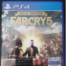 Videojuegos y Consolas PS4: PS4 FAR CRY 5 (EDICIÓN ESPAÑOLA). Lote 223440000