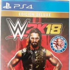 Videojuegos y Consolas PS4: PS4 WWE 2K18 (EDICIÓN DELUXE) EDICIÓN ESPAÑOLA. Lote 223748566