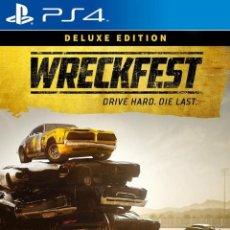 Videojuegos y Consolas PS4: PS4 WRECKFEST (DELUXE EDITION). Lote 223849216