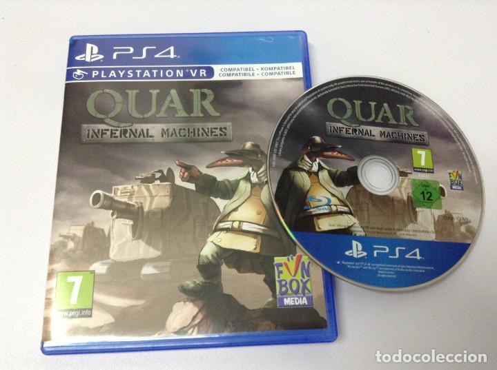 Videojuegos y Consolas PS4: QUAR INFERNAL MACHINES - Foto 4 - 224883918