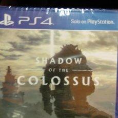 Videojuegos y Consolas PS4: SHADOW OF THE COLOSSUS - VIDEOJUEGO PS4 A ESTRENAR (PAL ESP) NUEVO PRECINTADO. Lote 225011360