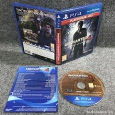 Videojuegos y Consolas PS4: UNCHARTED 4 EL DESENLACE DEL LADRON SONY PLAYSTATION 4 PS4. Lote 226165837