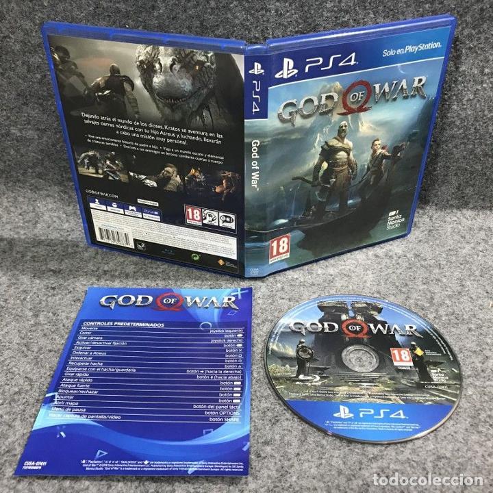 GOD OF WAR SONY PLAYSTATION 4 PS4 (Juguetes - Videojuegos y Consolas - Sony - PS4)