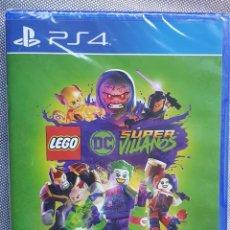 Videojuegos y Consolas PS4: LEGO DC SUPER VILLANOS PS4. PRECINTADO. Lote 226297156