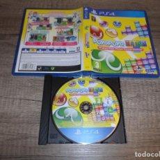 Videojuegos y Consolas PS4: PS4 PUYO PUYO TETRIS PAL ESP COMPLETO. Lote 226609625