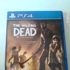 Videojuegos y Consolas PS4: THE WALKING DEAD PS4 MIRE MIS OTROS JUEGOS NINTENDO SONY SEGA MEGADRIVE DREAMCAST SATURN. Lote 226623735