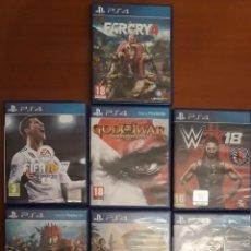 Videojuegos y Consolas PS4: LOTE JUEGOS PS4. Lote 226652425