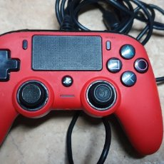 Videojuegos y Consolas PS4: MANDO NACON ROJO PS4 PLAYSTATION. Lote 283655473