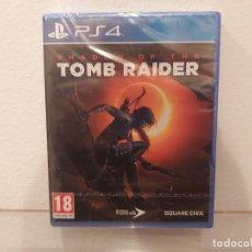 Videojuegos y Consolas PS4: SHADOW OF THE TOMB RAIDER - VIDEOJUEGO PS4 A ESTRENAR (PAL ESP). Lote 228346025