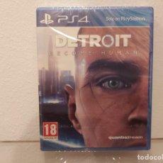 Videojuegos y Consolas PS4: DETROIT BECOME HUMAN - VIDEOJUEGO PS4 A ESTRENAR (PAL ESP). Lote 228348500