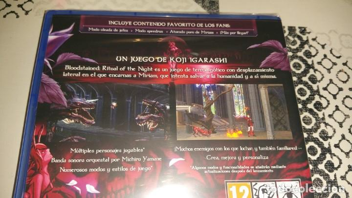 Videojuegos y Consolas PS4: BLOODSTAINED Ritual of the night PS4 PAL ESPAÑA PRECINTADO Koji Igarashi - Foto 3 - 205849372