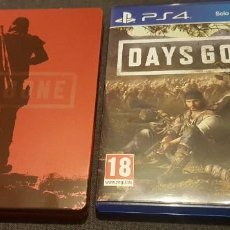 Videojuegos y Consolas PS4: DAYS GONE PS4 EDICIÓN CON CAJA METÁLICA EXTRA. Lote 230930630