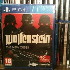 Videojuegos y Consolas PS4: WOLFENSTEIN THE NEW ORDER PS4 PAL ESPAÑA PRECINTADO BETHESDA. Lote 231995610