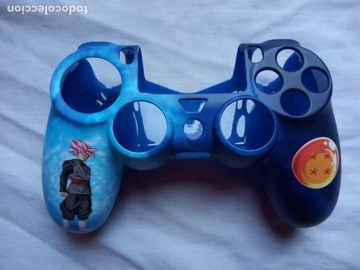 Videojuegos y Consolas PS4: Carcasa para mando PS4 Dragon Ball - Foto 2 - 232682940