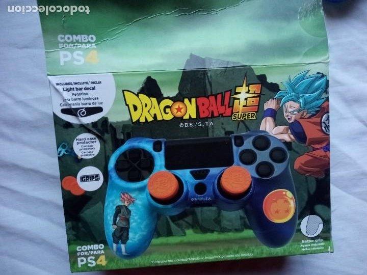 Videojuegos y Consolas PS4: Carcasa para mando PS4 Dragon Ball - Foto 7 - 232682940