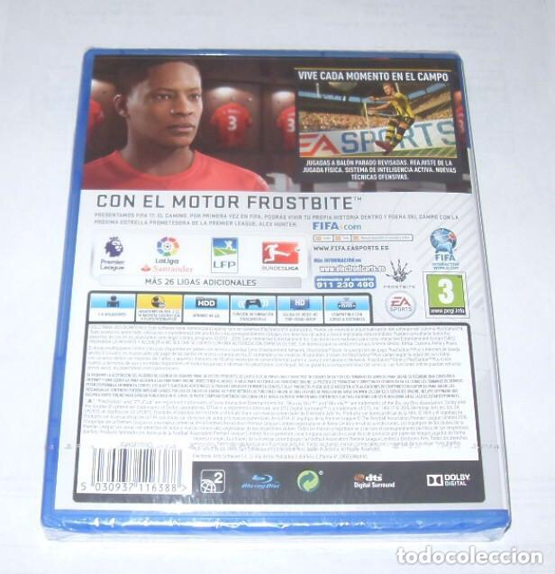 Videojuegos y Consolas PS4: Juego para ps4 , FIFA 17 , sin desprecintar - Foto 2 - 232892135