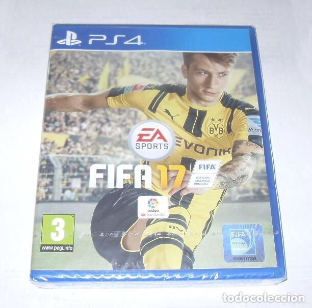 JUEGO PARA PS4 , FIFA 17 , SIN DESPRECINTAR (Juguetes - Videojuegos y Consolas - Sony - PS4)