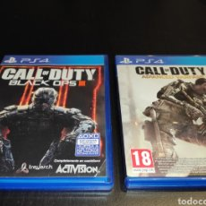 Videojuegos y Consolas PS4: 2 JUEGOS PS4 PLAY STATION CALL OF DUTY BLACK OPS III Y ADVANCED WARFARE. Lote 233909935
