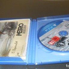 Videojuegos y Consolas PS4: METRO EXODUS. Lote 234728270