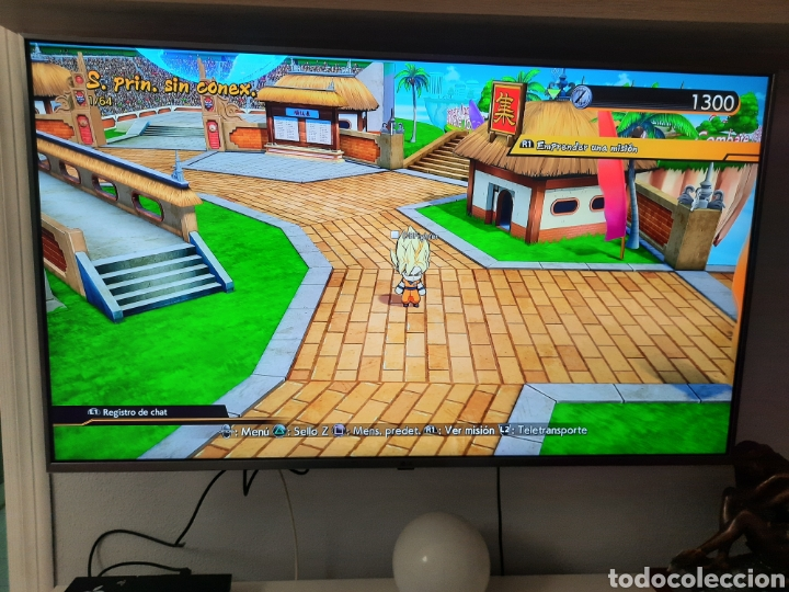 Videojuegos y Consolas PS4: PS4 COMPLETA+JUEGO DRAGONBALL Z FIGHTERS - Foto 4 - 234772630