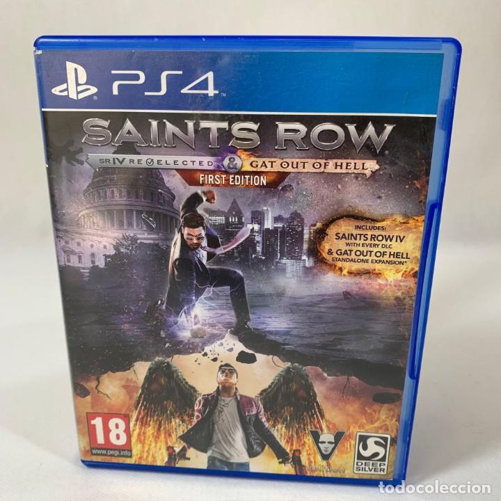 VIDEOJUEGO PLAY STATION 4 - PS4 - SAINTS ROW + CAJA (Juguetes - Videojuegos y Consolas - Sony - PS4)