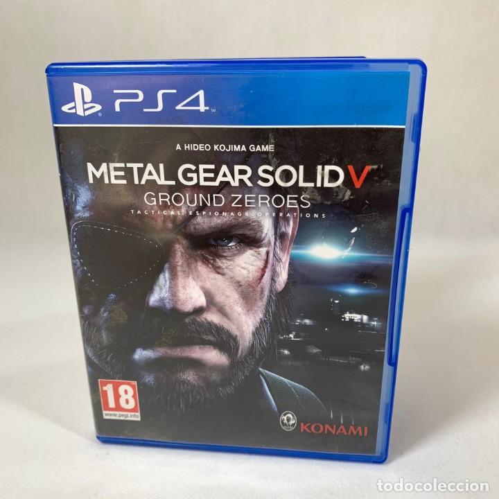 VIDEOJUEGO PLAY STATION 4 - PS4 - METAL GEAR SOLID V GROUND ZEROES + CAJA (Juguetes - Videojuegos y Consolas - Sony - PS4)