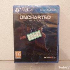 Videojuegos y Consolas PS4: UNCHARTED, EL LEGADO PERDIDO - VIDEOJUEGO PS4 A ESTRENAR (PAL ESP). Lote 235354790