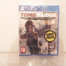 Videojuegos y Consolas PS4: TOMB RAIDER, DEFINITIVE EDITION - VIDEOJUEGO PS4 A ESTRENAR (PAL ESP). Lote 235357870