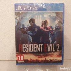 Videojuegos y Consolas PS4: RESIDENT EVIL 2 - VIDEOJUEGO PS4 A ESTRENAR (PAL ESP). Lote 235362355