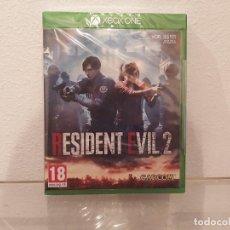 Videojuegos y Consolas PS4: RESIDENT EVIL 2 - VIDEOJUEGO XBOX ONE A ESTRENAR (PAL ESP). Lote 235362610