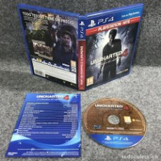 Videojuegos y Consolas PS4: UNCHARTED 4 EL DESENLACE DEL LADRON SONY PLAYSTATION 4 PS4. Lote 235365040