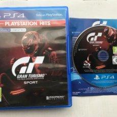 Videojuegos y Consolas PS4: GRAN TURISMO SPORT SPORTS VR PLAYSTATION PLAY STATION 4 KREATEN HITS. Lote 235589460