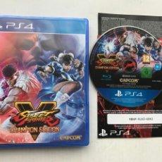 Videojuegos y Consolas PS4: STREET FIGHTER V CHAMPION EDITION 5 CAPCOM PLAYSTATION PLAY STATION 4 KREATEN. Lote 235590260