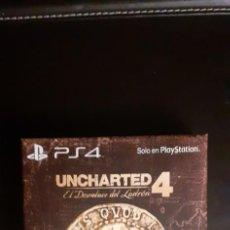 Videojuegos y Consolas PS4: JUEGO PS4 UNCHARTED 4: EL DESENLACE DEL LADRON EDICION ESPECIAL PS4. Lote 235614640